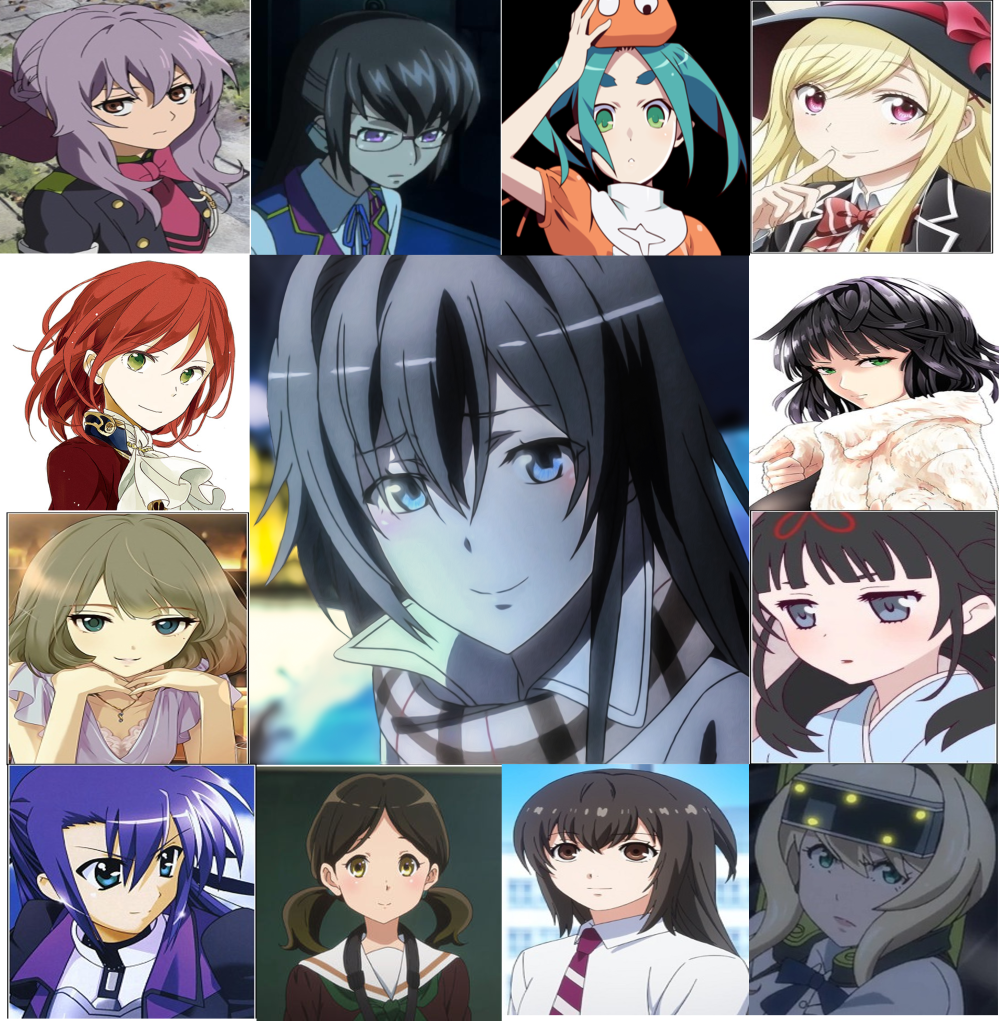 The voices of Saori Hayami